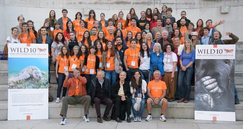 WILD10 staff & volunteers