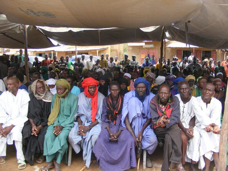 Local communities gather to restore peace in the Gourma